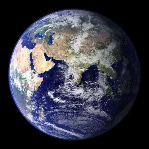 Спутниковая карта мира