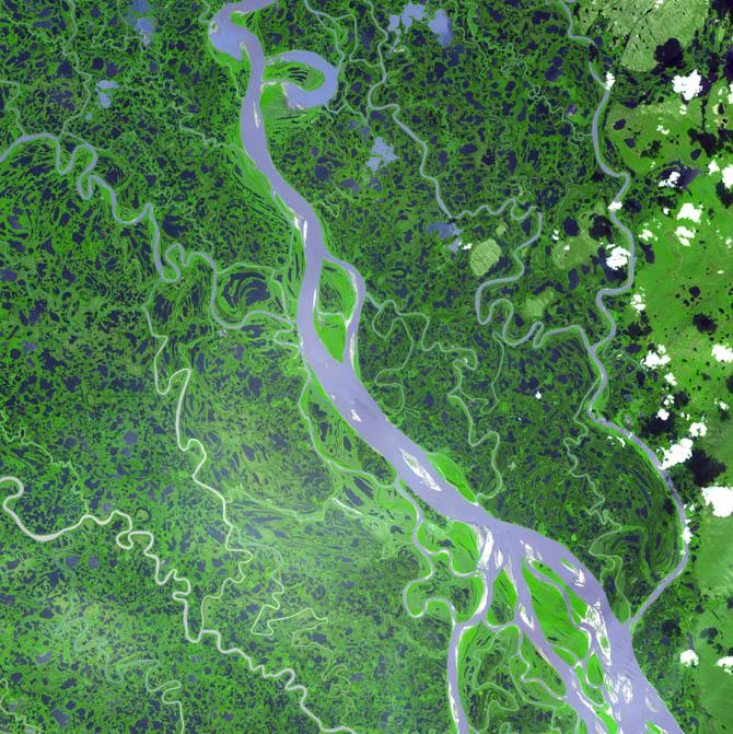 Река Маккензи, Канада