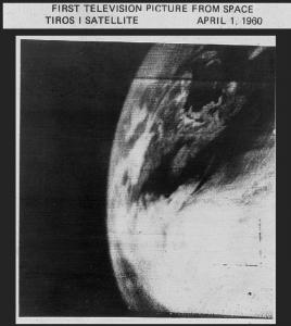 Первое телевизионное икона Земли с космоса