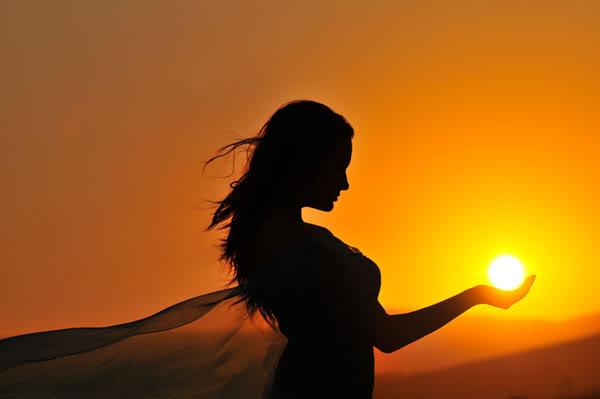 Солнце в ладони