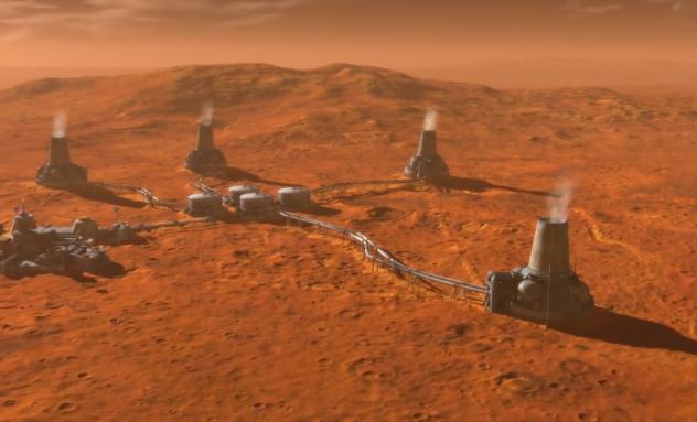 Заселение Марса человеком
