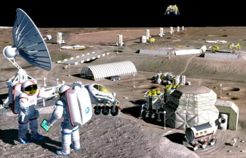 Луна добыча полезных ископаемых