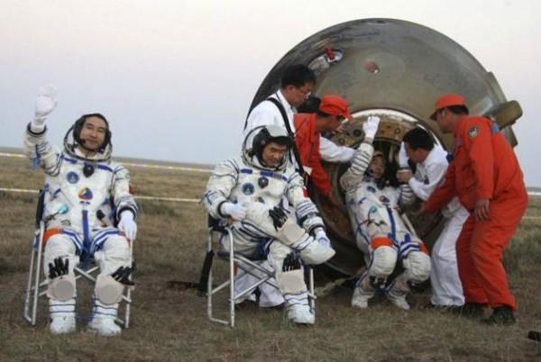 Китайские космонавты
