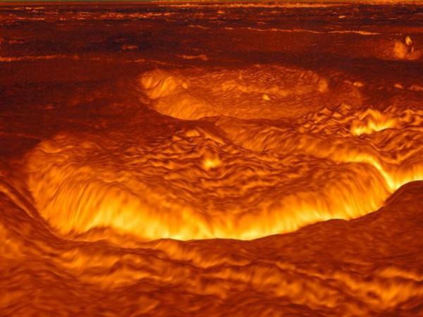 Венеры поверхность