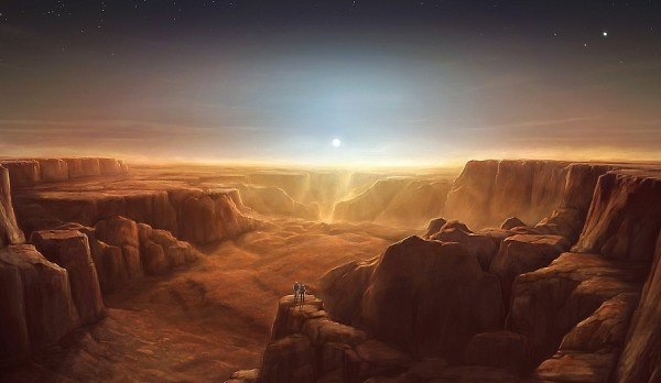 Марс планета Солнечной системы