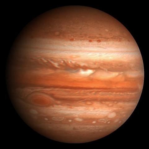 Планета гигант Юпитер