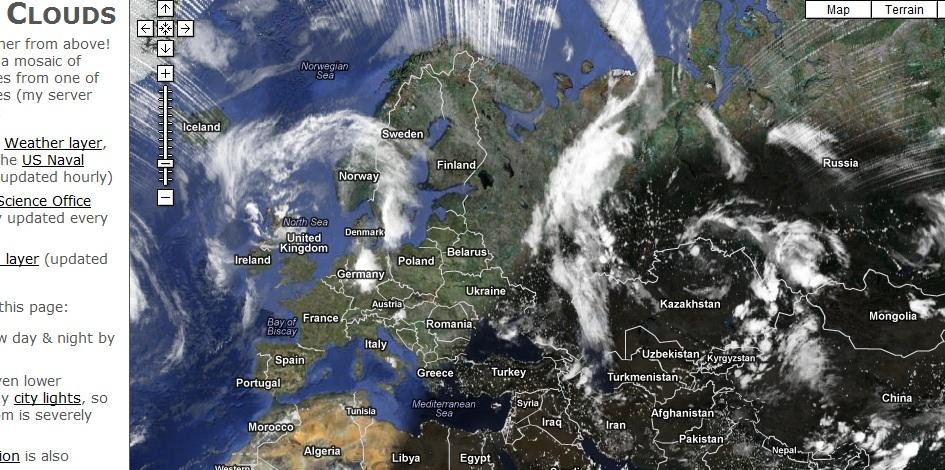 изображение со спутника в режиме реального времени - фото 9