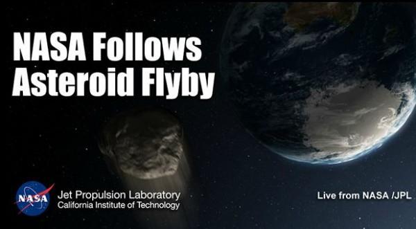 НАСА покажет сближение астероида с Землей в прямом эфире
