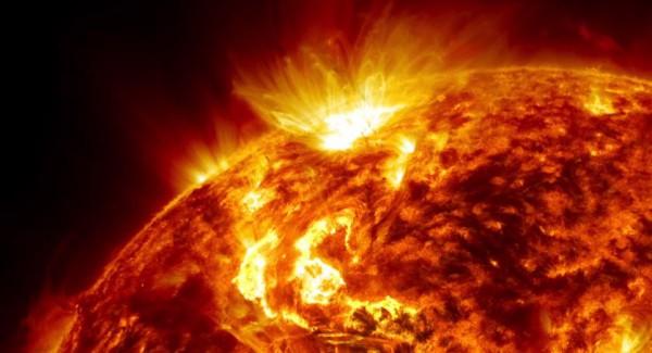 Поверхность Солнца. Температура на поверхности Солнца