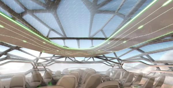 Прозрачный самолет от Airbus